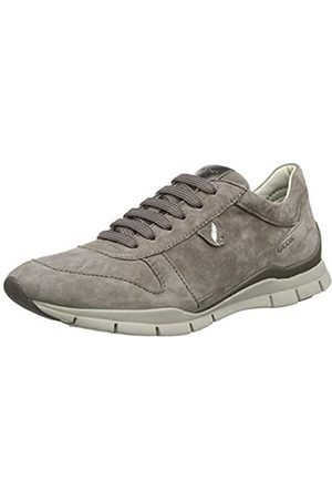 Geox D Sukie a, Women's Low-Top Trainer, (Smoke Greyc9006)