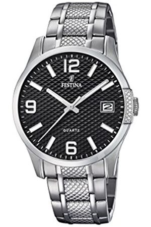 Festina Mens Analogue Quartz Watch with Stainless Steel Strap F16981/1