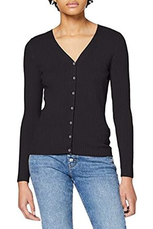 Dorothy Perkins Women's Fitted Rib Cardigan Sweater