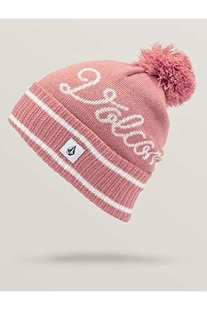 Volcom Women's Script Classic Fit Snow Beanie - Pink - One Size
