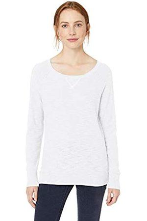 Daily Ritual Women's Lightweight Open-Crewneck Raglan Sweater