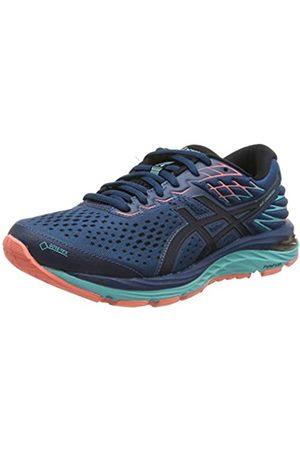 Asics Women's Gel-Cumulus 21 G-tx Running Shoes, (Mako /Midnight 400)