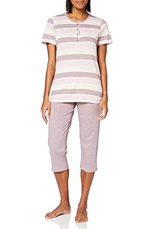 Schiesser Women's Anzug 3/4, 1/2 Arm Pyjama Set