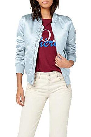 Urban classics Women's Ladies Satin Bomber Jacket