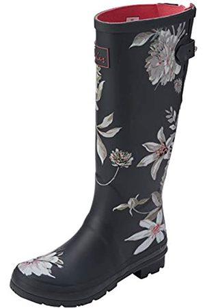 Joules Women's Welly Print Wellington Boots, (Dark Floral Drkgryflrl)