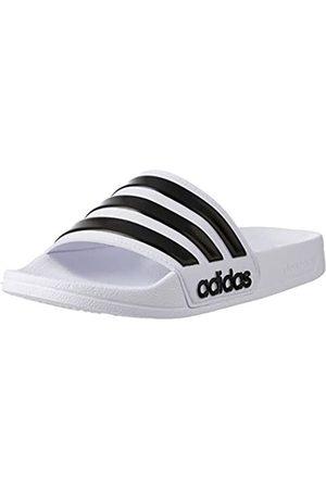 adidas Men's Cloudfoam Adilette Adilette Flip Flops, (Footwear /core /footwear )