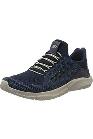 Skechers Men's Ingram STREETWAY Trainers, (Navy Knitted Mesh NVY)