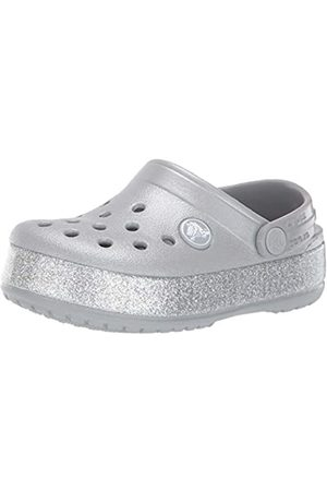 Crocs Kids' Crocband Glitter Clog, ( 040)