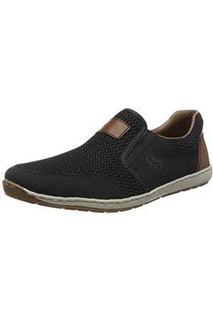 Rieker Men's Frühjahr/Sommer Loafers, (Pazifik/Navy/Amaretto 14)