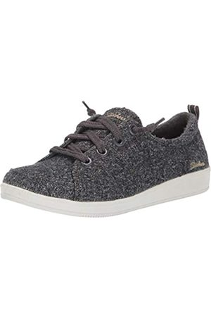 Skechers Women's Madison AVE-Promising Trainers, (Charcoal Wool Ccl)