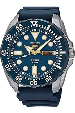 Seiko Men's Analogue Automatic Watch with Silicone Strap – SRP605K2