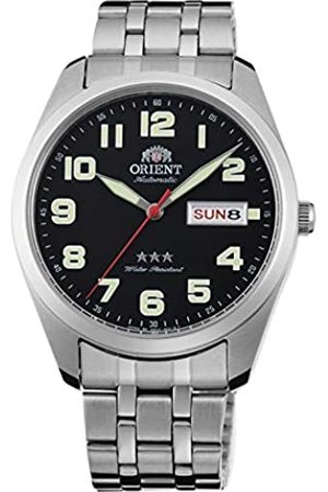Orient Unisex Adult Analogue Automatic Watch with Stainless Steel Strap RA-AB0024B19B