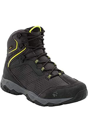 Jack Wolfskin Men's Rock Hunter Texapore Mid M Wasserdicht High Rise Hiking Shoes, (Lime 4170)