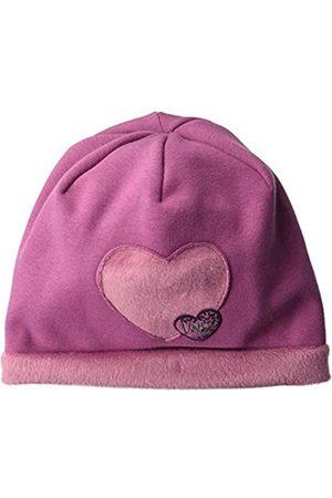 maximo Girl's Beanie aus Jersey mit Herzmotiv Hat