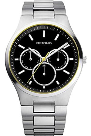 Bering Mens Analogue Quartz Watch with Stainless Steel Strap 13841-702