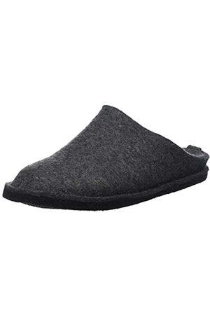 Haflinger Women's Flair Soft Open Back Slippers, (Anthrazit 4)