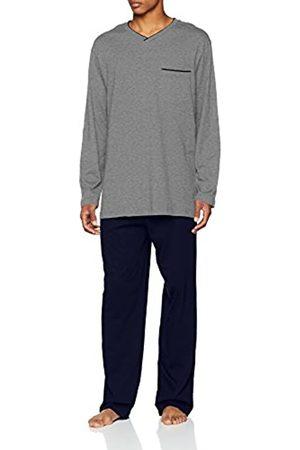 Seidensticker Men's Anzug Lang Zweiteiliger Schlafanzug-162690 Pyjama Sets