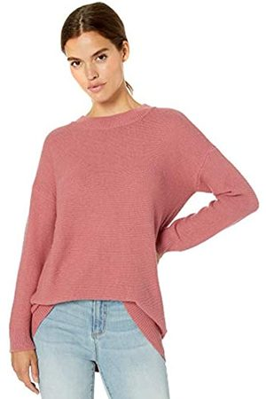 Daily Ritual Wool Blend Baksetweave Crewneck Sweater Pullover