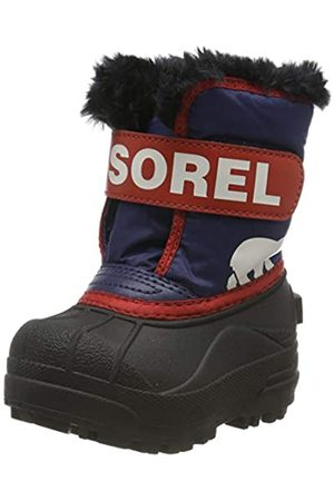 sorel Unisex Kid's TODDLER SNOW COMMANDER Boot, Nocturnal, Sail