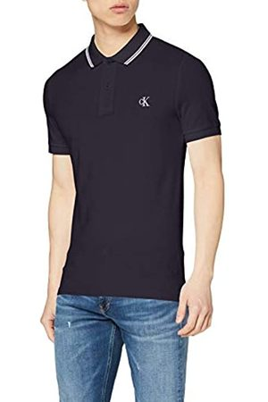 Calvin Klein Men's CK Essential Tipping Slim Polo Shirt