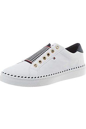 Tommy Hilfiger Women's Tommy Elastic City Sneaker Low-Top, ( Ybs)