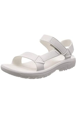 Teva Men's Hurricane Drift Open Toe Sandals, ( WHT)