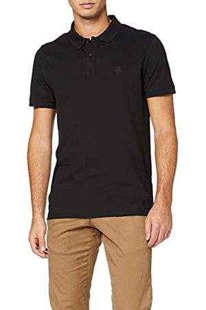 Selected Homme Men's Aro Plain T-Shirt Short Sleeve Polo Shirt