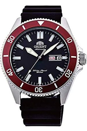 Orient Mens Analogue Automatic Watch with Rubber Strap RA-AA0011B19B