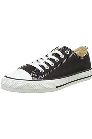 victoria Zapato Basket Autoclave, Unisex Adults' Low Top Trainers, (Negro 10)