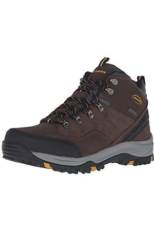Skechers Men's Relment-Pelmo High Rise Hiking Boots, (Khaki Khk)