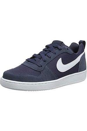 Nike Baby Boys' Court Borough Low Pe (Gs) Basketball Shoes, (Thunder /Pale Ivory 400)