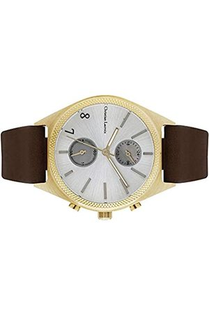 Christian Lacroix Mens Quartz Watch with Leather Strap CLMS1804