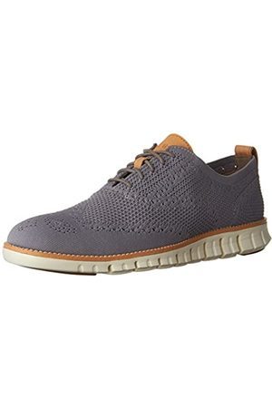 Cole Haan Men's Zerogrand Stitchlite Oxfords, (Ironstone Knit/Ivory)