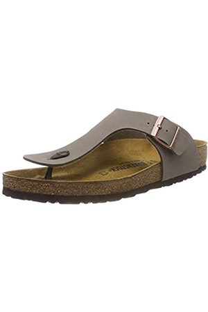 Birkenstock Gizeh Birko-flor Nubuck, Women's Flip Flop Sandals, (Stone)