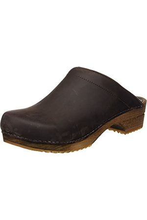 Sanita Wood Chrissy Open, Women's Mules and Clogs Clogs