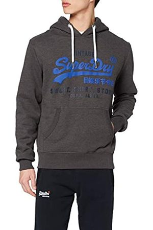 Superdry Men's Sweat Shirt Shop Duo Hood Jumper