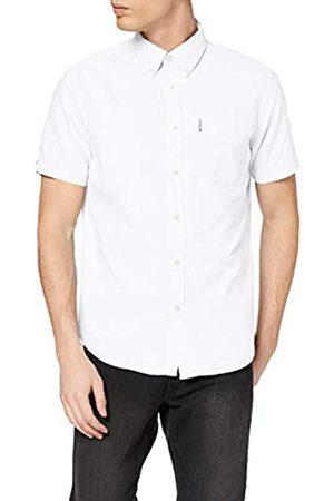 Ben Sherman Men's SS Signature Oxford Shirt Casual