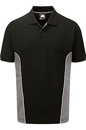 Workwear World WW313 Two Tone Contrast Colour Cotton Rich Work Wear Polo Shirt (Medium)