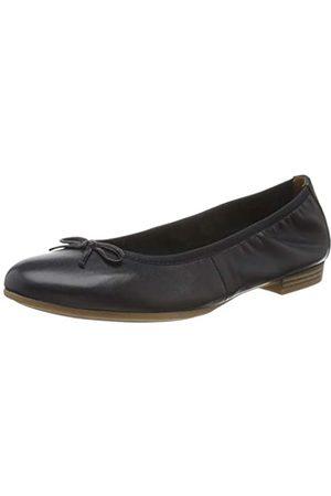 Tamaris Women's 1-1-22116-24 Ballet Flats, (Navy 805)