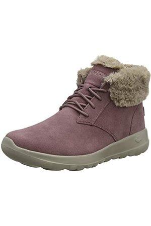 Skechers Women's ON-THE-GO JOY Ankle boots, (Mauve Suede/Trim Mve)