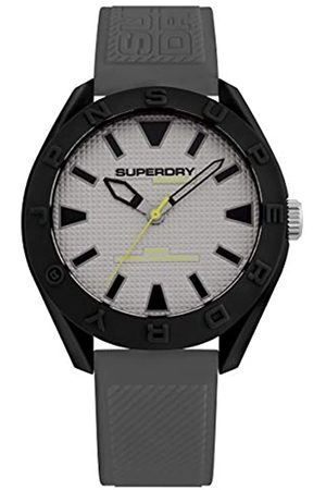 Superdry Mens Quartz Watch with Silicone Strap SYG243EE