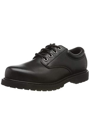 Skechers Men's COTTONWOOD ELKS Oxfords, ( Leather Blk)