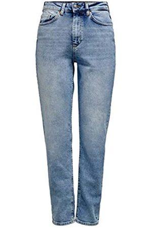 ONLY Women's Onlveneda Life Mom Jeans Rea7452