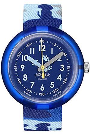 Flik Flak Unisex_Adult Analogue Swiss Quartz Watch with Textile Strap FPNP058