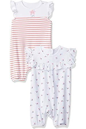 Mothercare Baby Girls Seaside 2Pk Romper