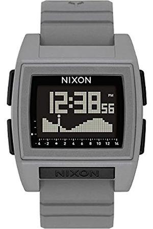 NIXON Mens Digital Watch with Silicone Strap A1212-145-00