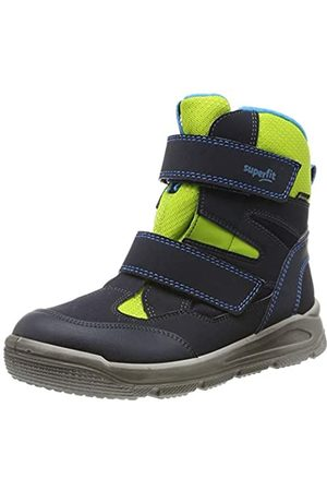 Superfit Mars, Boys'Snow Boots, (Blau/Grün 81)