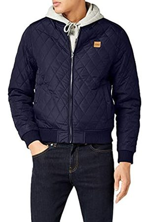Urban classics Men's Diamond Quilt Nylon Jacket