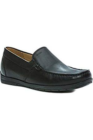 Geox U Simon W C - Smooth Leather, Men's Loafers, ( C9999)