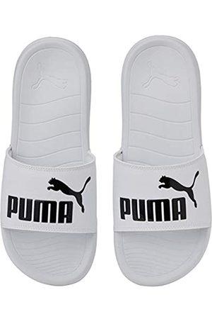 Puma Unisex Adulto Popcat 20 Zapatos de Playa y Piscina, Blanco 02
